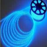 Wasserdichter transparenter Belüftung-Materialien 4W/M blauer SMD3528 Streifen Hochspg-LED