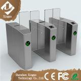 Barreira cheia automática da aleta da altura da porta de deslizamento da segurança para o edifício inteligente