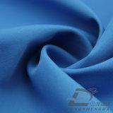 agua de 75D 260t y de la ropa de deportes tela rayada tejida chaqueta al aire libre Viento-Resistente 100% de la pongis del poliester del telar jacquar abajo (E182)