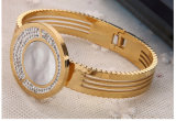 High-End bracelet en acier inoxydable, le Diamond Bangles, bijoux de mode (hdx1008)