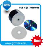 Blanc imprimable DVD-R 4.7GB 120min 16X de jet d'encre blanc en gros de l'usine