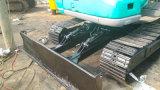 Excavatrice hydraulique utilisée Canalisation-Douée Turbocharged/d'Aftercooled Neuf-Grren-Couche de Kobelco Sk60 de chenille