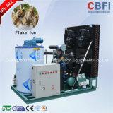 Máquina de hielo refrescada alto aire de la escama de la eficacia de la refrigeración de Cbfi