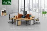 高品質の4 Seaterの十字の設計事務所の机