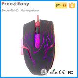 Mouse ottico collegato ad alta velocità Polychrome di gioco