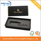Подгонянная коробка подарка бумаги стеклянной бутылки дух (QYZ105)