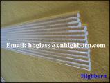 Varas de quartzo transparente de resistência térmica