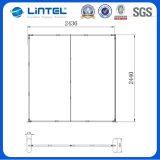 10FT Mitrate Corner Straight Fabric Back Wall (LT-24Q)