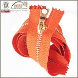 10 Messing Zipper für Garment