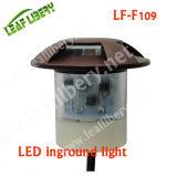 3 indicatore luminoso dell'alluminio DC12V IP67 LED Inground di profilato leggero di modo