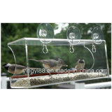 Großes Window Bird Feeder, Wild Bird Feeder, Enjoy Wild Birds herauf Close