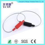 Selo da segurança do fio do cabo da cabeça do fechamento do metal da tampa do ABS da fonte de Guangzhou