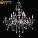 Candelabro de cristal luxuoso para a decoração Omg88614 da sala de visitas do hotel