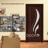 Vordere hölzerne Tür-innere hölzerne Tür-hölzerne Glastür