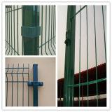 PVCによって溶接されるフレームの塀のパネルの低価格