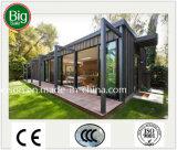 Pequeña cafetería móvil de la casa/casa prefabricadas/prefabricadas en la calle