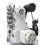 Máquina de enclavamiento Direct Drive de alta velocidad de costura con Auto Trimmer (500-01CB / UT)