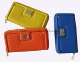 Heißes Verkaufs-neues konzipiert/Form-Karten-Dame Wallet mit einfacher Stickerei
