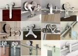 Diseño moderno de madera maciza de hardware de puerta de granero Bdh-04