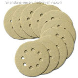 Discos azules del Velcro con los orificios (buena calidad, precio competitivo)
