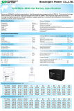 세륨 UL를 가진 SBB 12V80ah Solar Power Gel Deep Cycle Battery