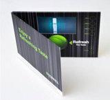2017 A5 поздравительная открытка экрана LCD 4.3 дюймов видео-
