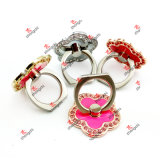 Metal riutilizzabile Ring Phone Holder Rotating Finger Ring Grip per Smartphones (SPH51016)