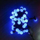 Luz multi de la cadena de la Navidad de la luz de la cadena de la bola de los colores LED