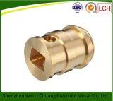 CNC Machinaal bewerkte CNC van de Delen van het Messing Vervangstukken van het Malen