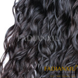 Onda profunda de la nueva de la llegada de Handmadel el 100% del pelo de las extensiones peluca llena india del cordón