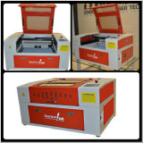 precio de la máquina de grabado del laser 50With60W con la mesa de trabajo motorizada