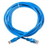 Cuerda de corrección de CE/RoHS UTP Cat5e/cable aprobados de la corrección