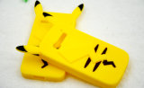 Случай Pikachu силикона шаржа мягкий в случай телефона iPhone 7 7plus Huawei P9 P8 LG K10 (XSDW-022)