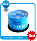 spazio in bianco stampabile DVD-R del getto di inchiostro bianco materiale di 4.7GB 120min 16X a+