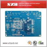 Голубая плата с печатным монтажом PCB Soldermask СИД Fr-4 6layer