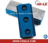 Алмазный резец Металл-Скрепляет истирательный блок Fickert меля для гранита (алюминий 140mm)