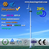 turbina do gerador de vento da família 5kw