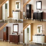 Cabinas de cuarto de baño modernas Carrara del café express superior de mármol barato de Fed-1820A