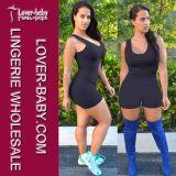 女性はショートさせるロンパースの体操の適性のジャンプスーツ(L55204-1)を