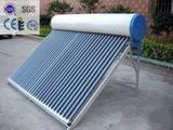 Chauffe-eau solaire pressurisé de tube électronique Integrated de caloduc