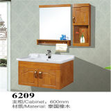 Side Cabinet를 가진 도매 Wall Mounted Wood Bathroom Vanity