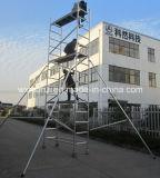 Bâti en aluminium approuvé d'échafaudage de GV pour la construction
