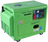 тепловозный генератор пользы комплекта генератора 5kVA портативный домашний (UE6500T)