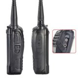 Bidirectionele Radio van de Walkie-talkie van de Zendontvanger Interphone van Baofeng uv-B6 5W 99CH UHF&VHF de Mobiele Draagbare