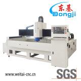 De horizontale CNC Oppoetsende Machine met 3 assen van de Rand van het Glas voor het Glas van de Vorm