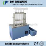 Het halfautomatische Systeem van de Distillatie van Kjeldahl (KDN)