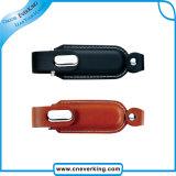 Neuer populärer Feld-Fabrik-Preis-kundenspezifischer Leder USB