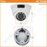 Mini IP della macchina fotografica della nuova di apparenza del metallo della cassa cupola impermeabile di Poe (MVT-M34)