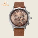 人の手首の水晶腕時計の革バンド贅沢なメンズスポーツWatch72267