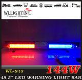 LED에 의하여 이용되는 경찰 비상사태 경고등 바